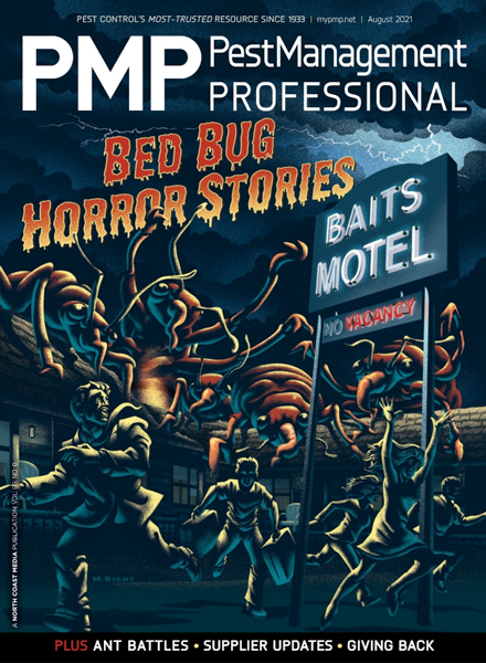 PMP August 2021 Cover. ILLUSTRATION: MIKE RIGHT