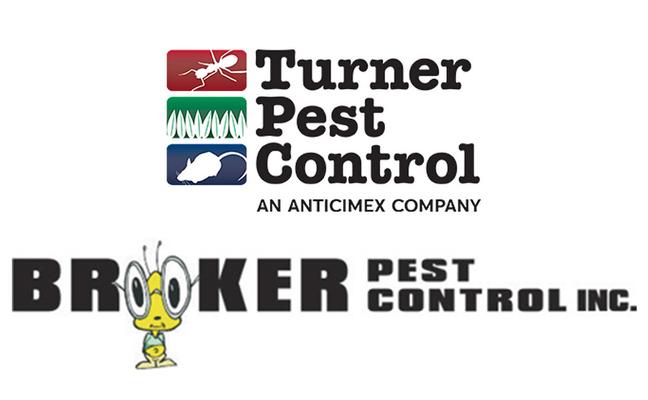 LOGO: TURNER PEST CONTROL AND BROOKER PEST CONTROL